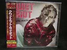 QUIET RIOT Metal Health + 2 JAPAN CD Whitesnake Ozzy Osbourne Ratt W.A.S.P.