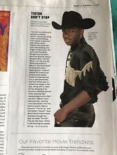 15 + Lil Nas X Clippings Old Town Road Gay Icon Rolling Stone Grammy