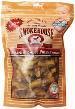 Smokehouse 100-Percent Natural Chicken And Sweet Potato Combo Dog Treats, 16-O..