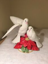 Christmas Doves-1991 Franklin Mint Figurines by Franklin Mint