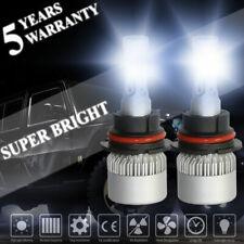 9007 HB5 LED 2000W 300000LM Headlight Conversion Kit White 6000K Hi-Lo Beam