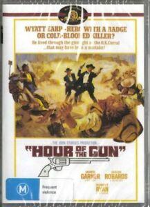 Hour Of The Gun DVD James Garner Brand New and Sealed Australian Release