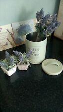 Bits & bobs lovely garden potting shed metal tin light sage colour