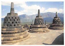 Indonesia Borobudur Stupas on the Borobudur Central Java Temple