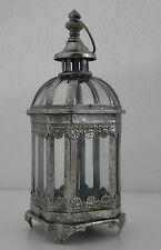 Lampe de jardin PHOTOPHORE MÉTAL lumière protection contre le vent BOUGIE