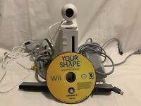 Nintendo Wii White RV-001, Camera Bundle, Gamecube compatible, Read Description