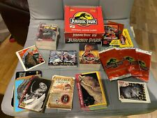 JURASSIC PARK COLLECTIBLE TRADING CARDS FULL SETS / UNOPENED / DUPLICATES