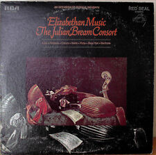 THE JULIAN BREAM CONSORT: Elizabethan Music-M1963LP