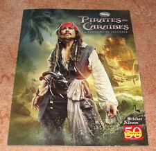 """Album Panini """"Pirates des Caraïbes - La fontaine de jouvence"""" complet"""