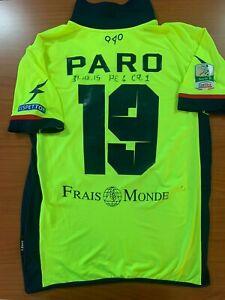 maglia CROTONE 19 PARO INDOSSATA in Pescara-Crotone 4-1  31-10-15