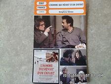 CARTE FICHE CINEMA 2007  L'HOMME QUI REVAIT D'UN ENFANT Artus de Penguern