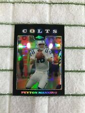 Peyton Manning 2008 Topps Chrome Refractor #TC10 Indianapolis Colts