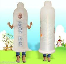 Halloween X-mas Costume Funny Condom Inflatable Suit Cosplay Gift