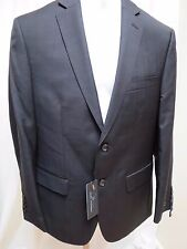 NEW mens Marc Anthony sport coat blazer suit jacket 42S short black glencheck