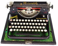 Máquina de escribir Rheinmetall Koffer   año 1936/38 serie 162049