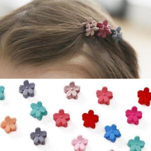 50Pcs Baby Mini Hair Clips Girls Kids Flower Hair Clip Bow Hair Claws Pin Clips.