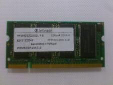 Memoria RAM 256MB  DDR-333MHZ