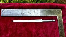 Steel Knife Blade Blank 1075 High Carbon Steel Letter Opener with Tang 84THCB