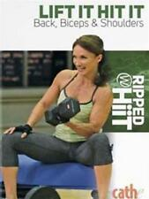 CATHE FRIEDRICH RIPPED WITH HIIT LIFT IT HIT IT BACK BICEPS SHOULDERS DVD NEW