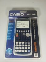 New Casio fx-9750GII Graphing Calculator, Blue USB