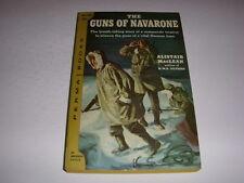 THE GUNS OF NAVARONE by ALISTAIR MACLEAN, Permabooks #M-4089, 1958, Vintage PB!