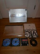 METAL GEAR SOLID PREMIUM PACKAGE BOX SET PS1 NTSC VERSION WITH NEW T-SHIRT RARE
