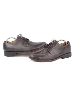 Johnston & Murphy Signature Series Mens 9.5 M Sheepskin Leather Oxford Shoes