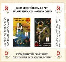 Cipro turca 2008 Bf 27 B giochi olimpici estivi Pechino non dentellato Mnh