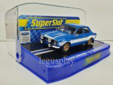 Slot SCX Scalextric Superslot H3592 Ford Escort MK1 Blue/White