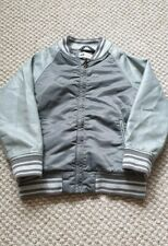Boys H&M Bomber Leather Look Style Jacket 5-6 Years