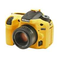 AMZER Soft Silicone Protective Skin Case Cover for Nikon D7200 /D7100 - Yellow