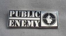 * BRAND NEW* Public Enemy enamel pin badge.Hip-Hop, Def Jam, Beastie Boys,Eminem