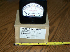 DC Amp Ohm Panel Meter Hoyt 90-0059 new