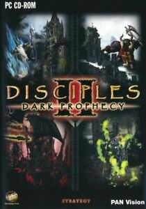 Disciples II 2 Dark Prophecy - Fantasy Strategy PC Game - Brand New & Sealed