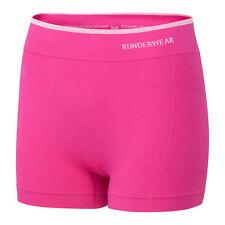 Runderwear Womens Ladies Running Hot Pant Underwear Pink - UK 10-12