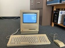 apple macintosh vintage computer working