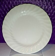 "Johnson Brothers White Regency Swirl 6.25"" Dessert Bread Plate Made In England"