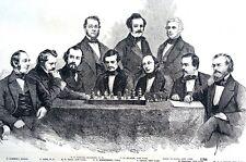 American Chess Players 1856 HAMMOND LOYD MEAD PERRIN STANLEY ROBERTS MONTGOMERY