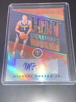 Michael Porter Jr. 18-19 Panini Hoops Rc Hot Signature