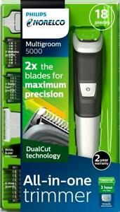 Philips Norelco 5000 Multigroom Hair Trimmer with 18 Attachments - MG5750/18