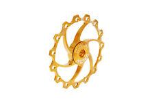 KCNC Road MTB Cycling Bike Derailleur Oversized Pulley Jockey Wheel 15T Gold