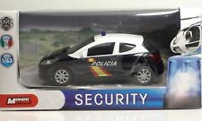 "MondoMotors Peugeot 207 POLICIA ""Espana""- Security METAL 1:43"