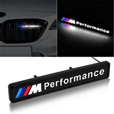 BMW M Sport Performance Front Grille Badge Led Light Luminous Universal