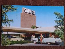 Las Vegas NV/Sahara Hotel-Casino Entrance Exterior/1955 Cadillac/Chrome PC