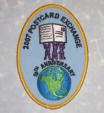 "2007 Postcard Exchange Patch - Girl Scouts  -  2 3/4"" x 4"""