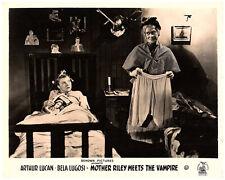 OLD MOTHER RILEY MEETS THE VAMPIRE ORIGINAL LOBBY CARD ARTHUR LUCAN DORA BRYAN