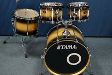 "Tama Superstar Custom  Shellset in  ""Tobacco Burst "" 22,10,12,14"" mit Tomhaltern"