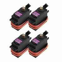 4pcs Digital Metal Gear Servo High Torque Upgraded MG996R MG995 MG945 RC Model