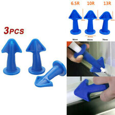 UK Silicone Caulking Finisher Tool Nozzle Spatulas Filler Spreader Tool Set GQ
