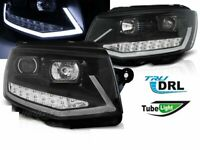 DRL Projector Headlights for VW T6 Transporter from 2015->LED Tube Light LHD LPV